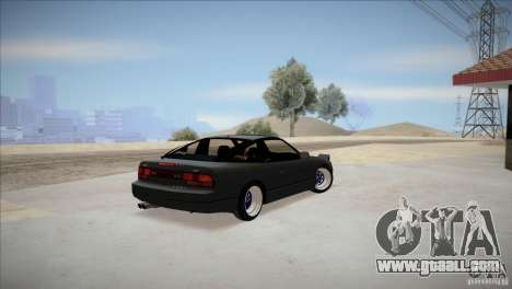 Nissan 240SX S13 for GTA San Andreas back left view