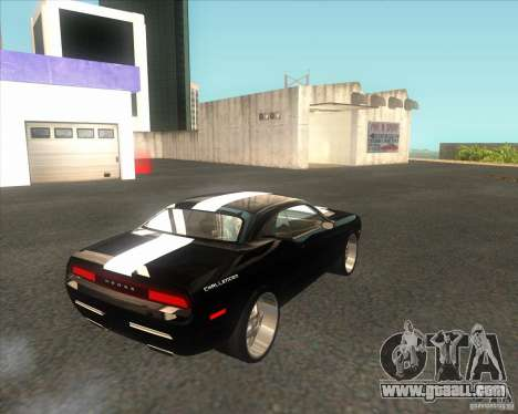 Dodge Challenger Concept for GTA San Andreas back left view