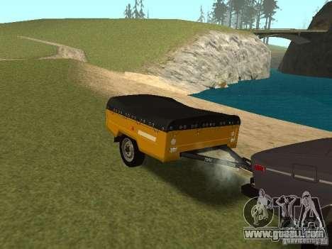 MAZ 8114 Calf for GTA San Andreas