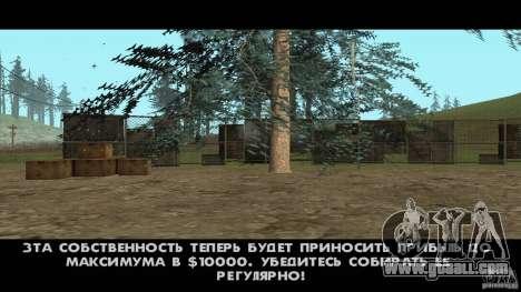 Realistic Apiary v1.0 for GTA San Andreas third screenshot