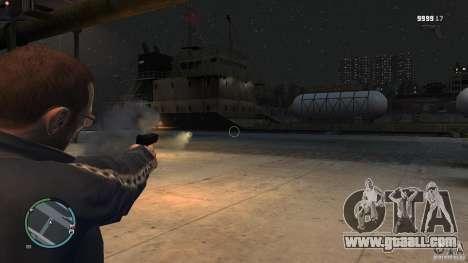 Gun-rocket launcher for GTA 4 forth screenshot