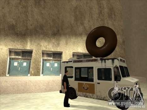 Donut Van for GTA San Andreas left view
