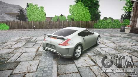 Nissan 370Z Nismo v1 for GTA 4 side view