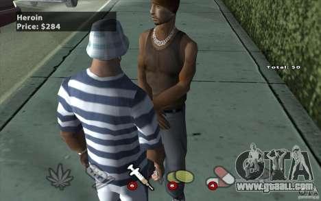 The Black Market Mod v.1.0 for GTA San Andreas