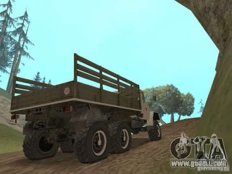 ZIL 131 Main for GTA San Andreas right view