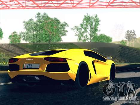 Lamborghini Aventador LP700-4 2011 V1.0 for GTA San Andreas engine
