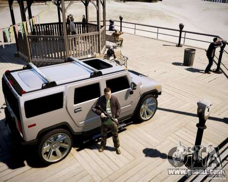 CoD Black Ops Hudson for GTA 4 seventh screenshot
