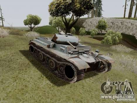 PzKpfw II Ausf.B for GTA San Andreas