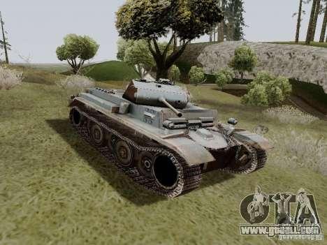 PzKpfw II Ausf.B for GTA San Andreas