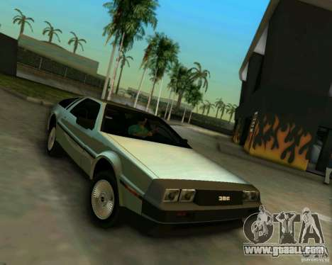 DeLorean DMC-12 V8 for GTA Vice City left view