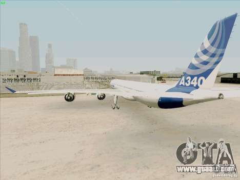 Airbus A-340-600 for GTA San Andreas right view