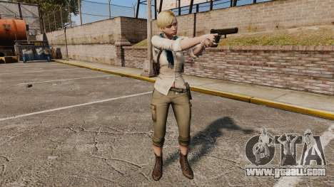 Sherry Birkin for GTA 4 forth screenshot