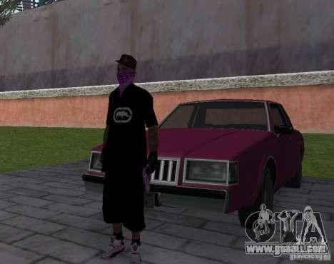 New Ballas Skin for GTA San Andreas forth screenshot