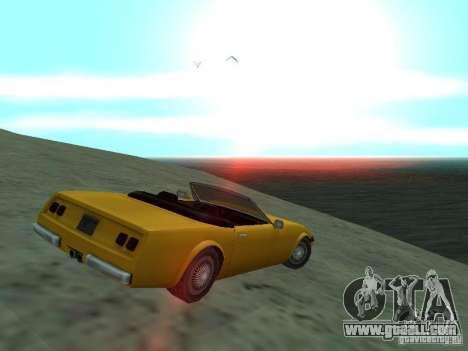 Feltzer of GTA Vice City for GTA San Andreas left view