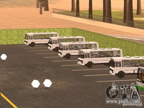 5 Bus v. 1.0 for GTA San Andreas seventh screenshot
