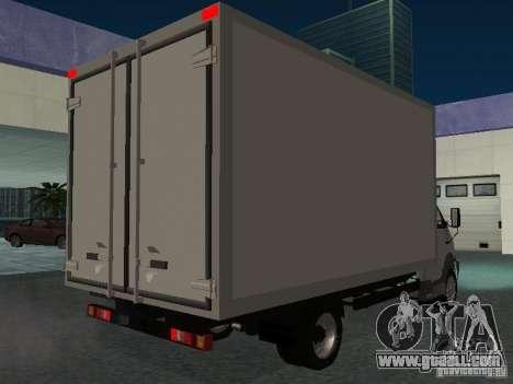 33102 Valday GAZ (long) for GTA San Andreas right view