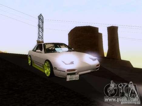 Nissan Silvia S13 Drift Style for GTA San Andreas engine