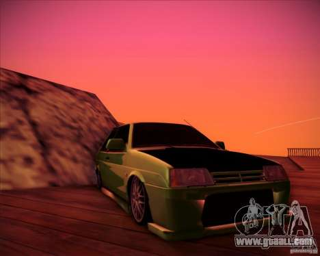 VAZ 2108 tuning for GTA San Andreas