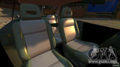 Honda Civic iES for GTA 4 inner view