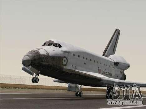 Space Shuttle for GTA San Andreas