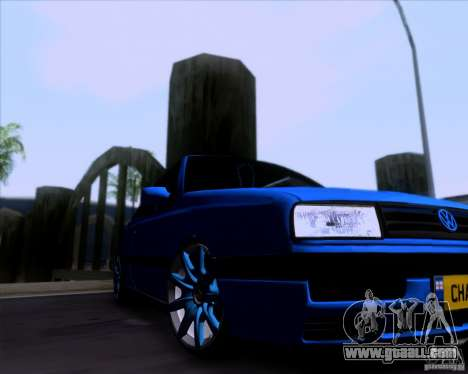 Volkswagen Golf III for GTA San Andreas back view