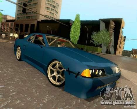Elegy Drift Korch for GTA San Andreas inner view