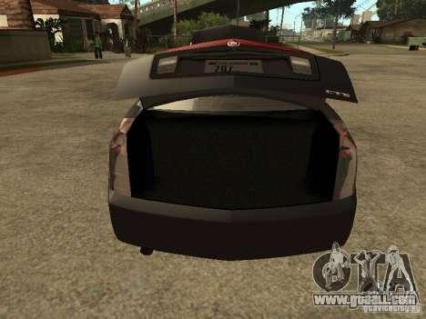Cadillac CTS for GTA San Andreas back view