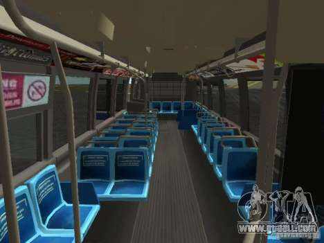 GMC RTS MTA New York City Bus for GTA San Andreas side view