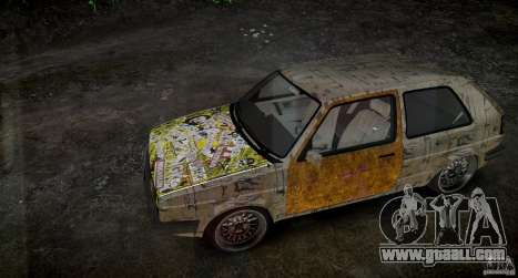 Volkswagen Golf Mk2 GTI Rat-Look for GTA 4