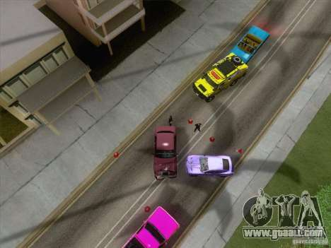 Accident on the road for GTA San Andreas third screenshot