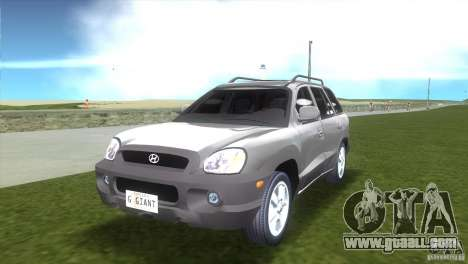 Hyundai Sante Fe for GTA Vice City