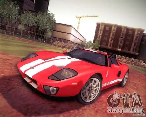 Ford GT for GTA San Andreas