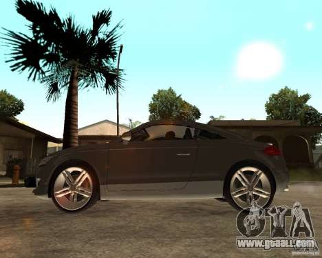 Audi TTS Coupe V1.1 for GTA San Andreas left view