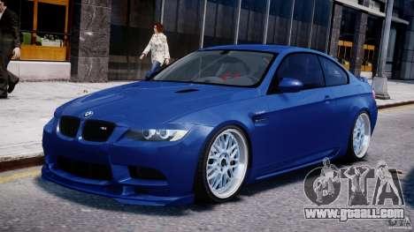 BMW M3 Hamann E92 for GTA 4 left view