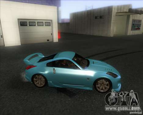 Nissan 350Z 2004 for GTA San Andreas left view