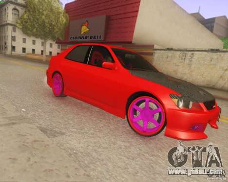 Toyota Altezza Drift Style v4.0 Final for GTA San Andreas left view