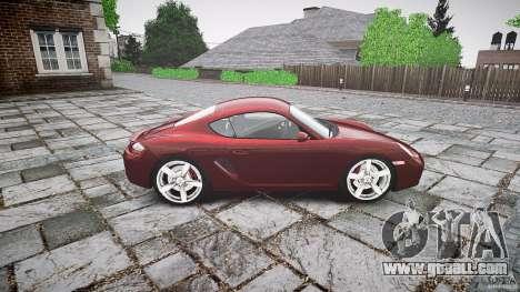 Porsche Cayman S v1 for GTA 4 inner view