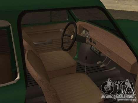 ZAZ 968 Drain for GTA San Andreas right view