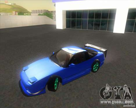 Nissan 240SX for drift for GTA San Andreas right view