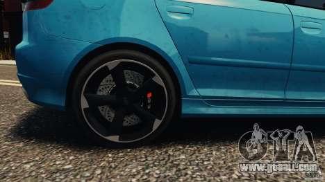 Audi RS3 Sportback V1.0 for GTA 4 back view