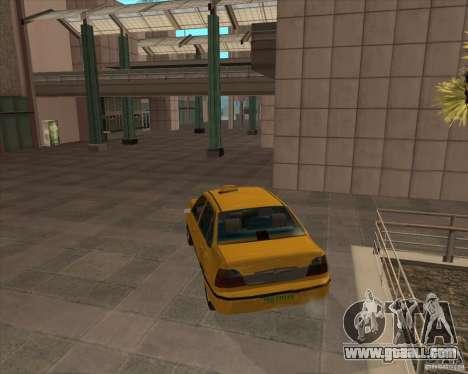 Daewoo Nexia Taxi for GTA San Andreas left view
