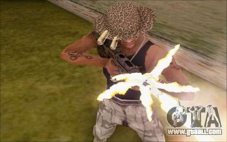 Tavor ctar-21 from WarFace v2 for GTA San Andreas third screenshot