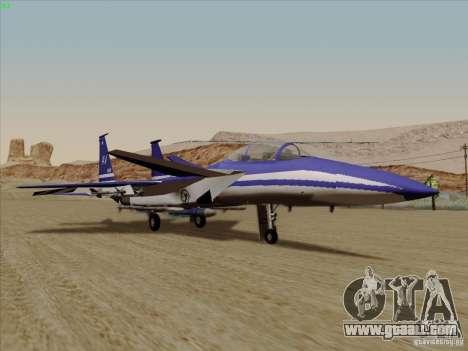 F-15 SMTD for GTA San Andreas