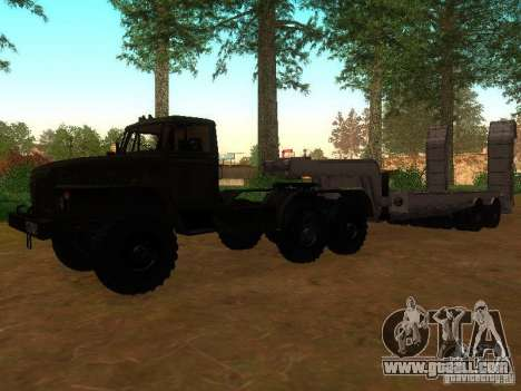 Ural-4420 tractor for GTA San Andreas left view