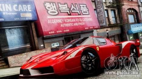 Ferrari FXX Evoluzione for GTA 4 back left view