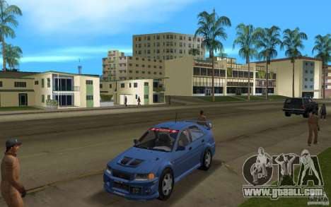 Mitsubishi Lancer Evo VI for GTA Vice City