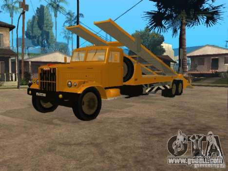 KrAZ 255 auto transporter for GTA San Andreas