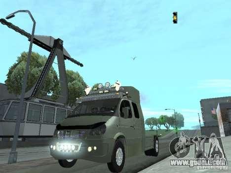 Gazelle 2705 for GTA San Andreas
