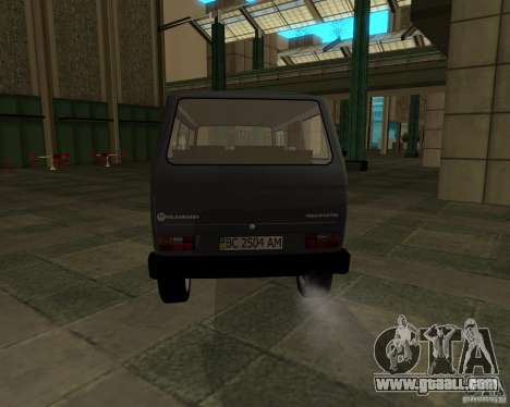 Volkswagen Transporter T3 for GTA San Andreas left view