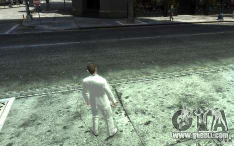Great gray-white costume for GTA 4 fifth screenshot